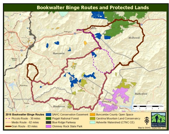 Map of protected lands!