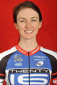 Lauren Komanski of Team TIPCO to ride the Binge