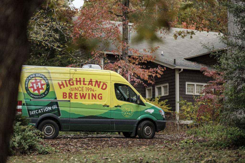 Highland Brewing sponsor the Binge